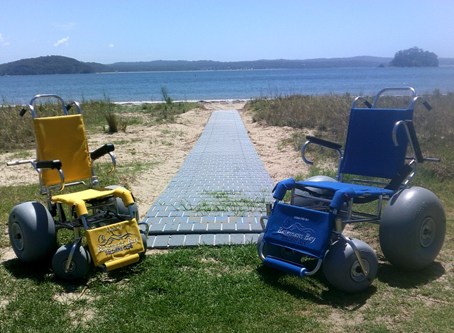 Beach Accessible Wheelchairs