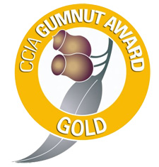 CCA Gold Gumnut Award Winner