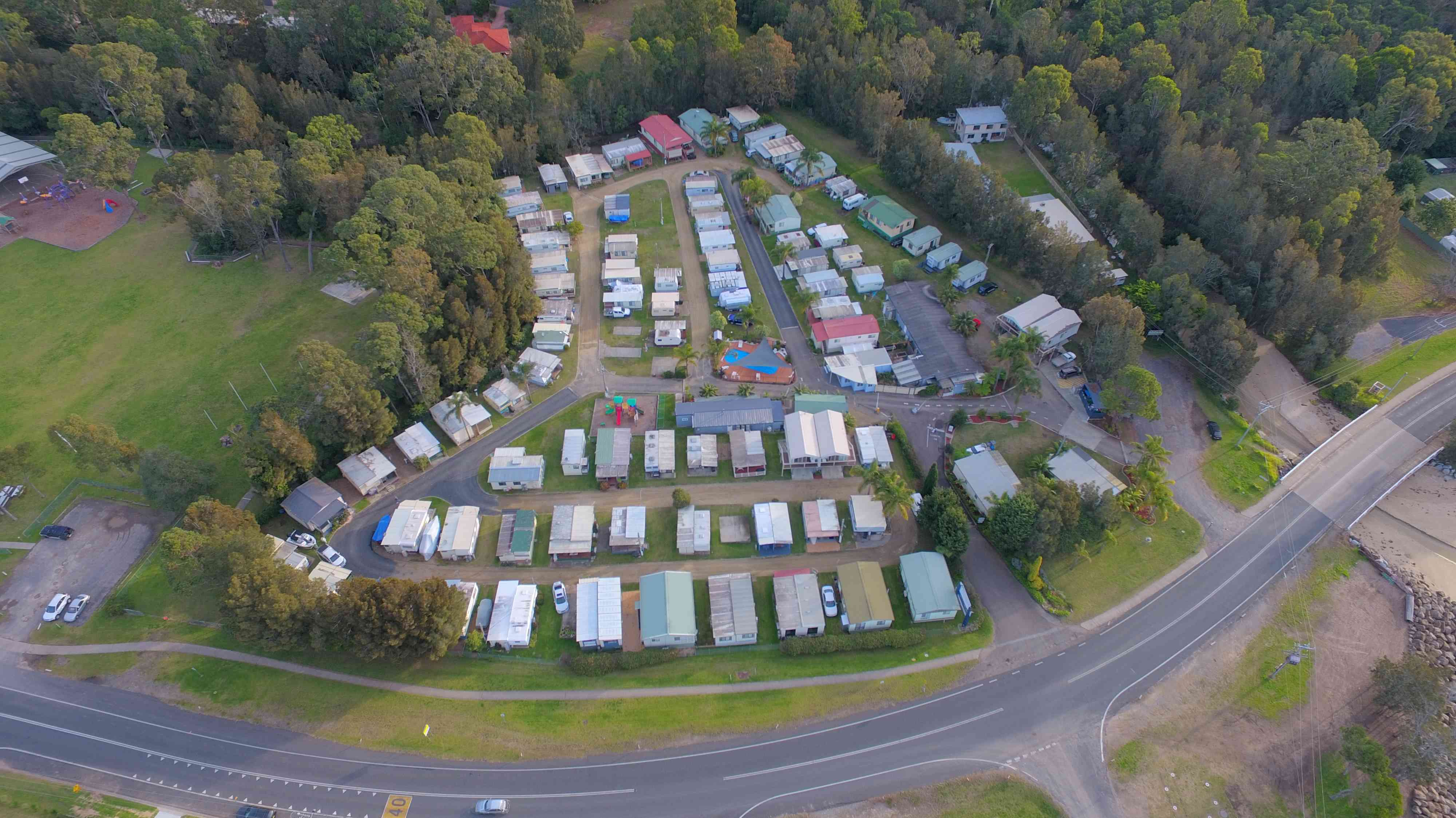 Vans and Cabins For Sale | Clyde View Holiday Park